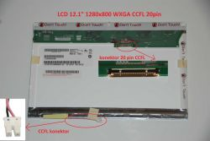 "LCD 12.1"" 1280x800 WXGA CCFL 20pin lesklý"