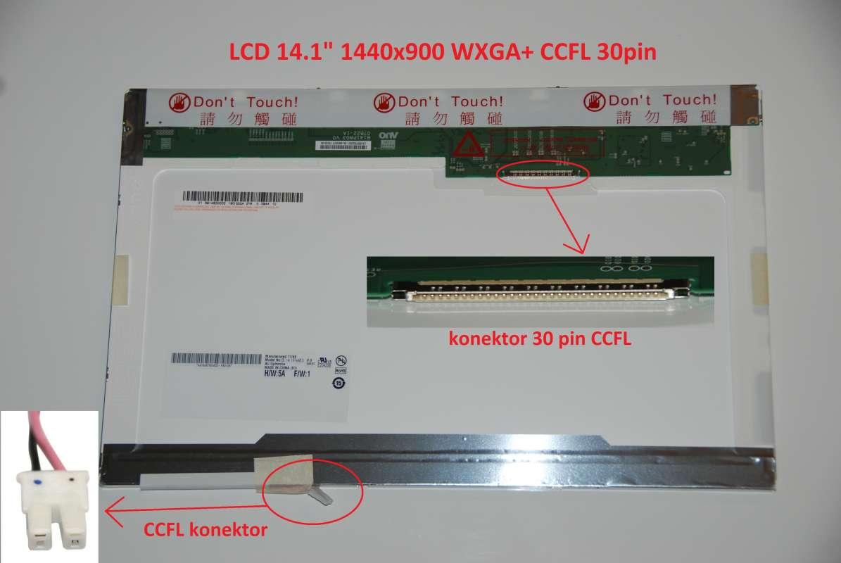 "LCD 14.1"" 1440x900 WXGA+ CCFL 30pin"