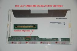 "LCD 15.6"" 1920x1080 WUXGA Full HD LED 40pin lesklý"
