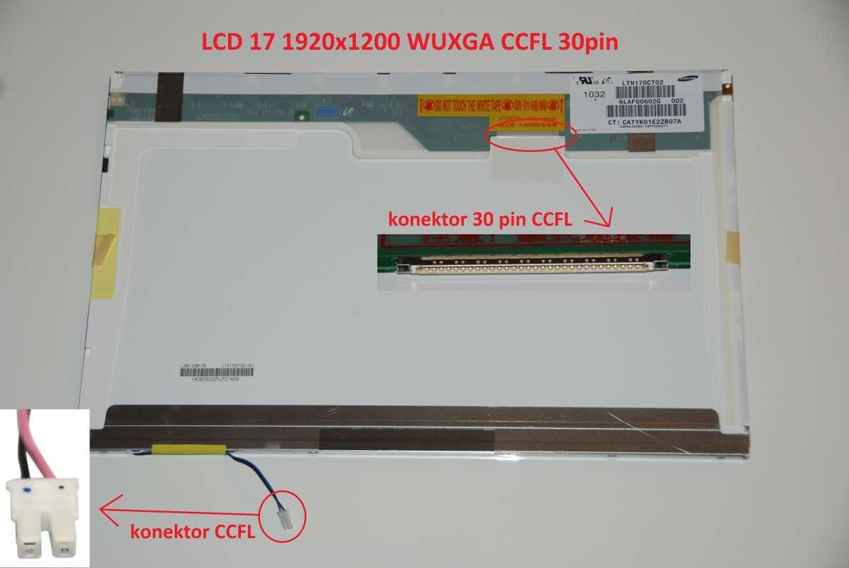 """LCD 17"""" 1920x1200 WUXGA CCFL 30pin"""