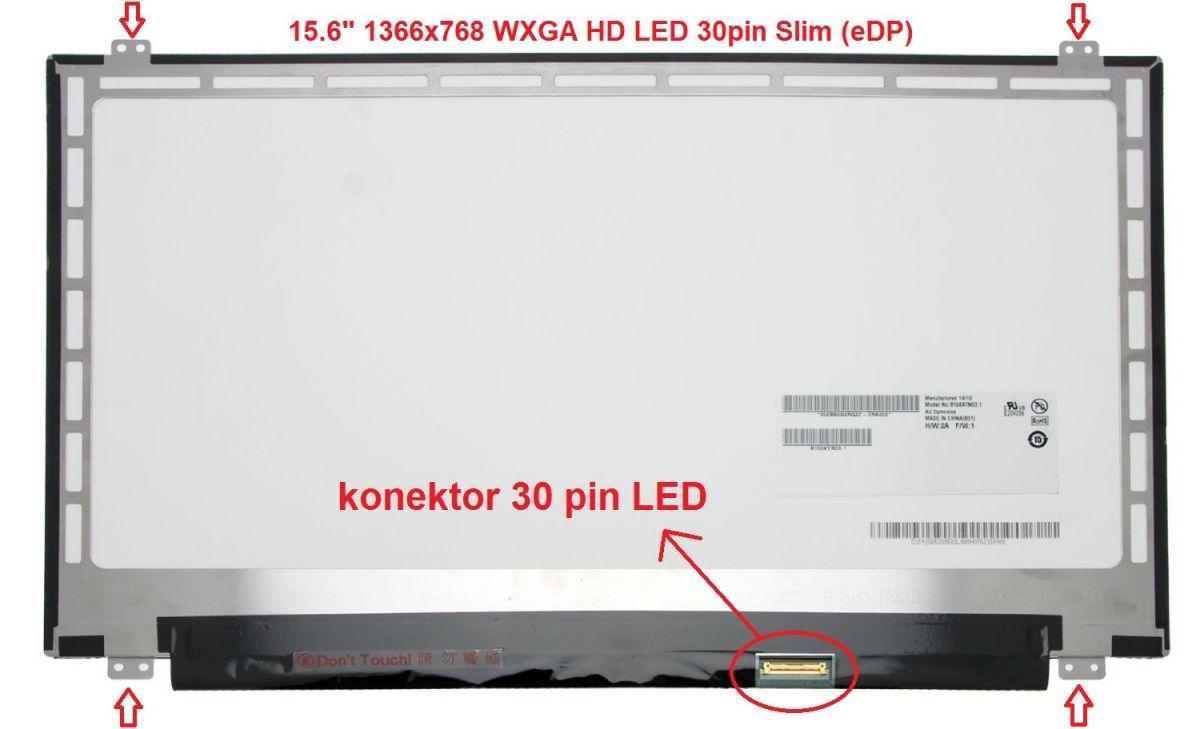 15.6 LED 30pin eDP