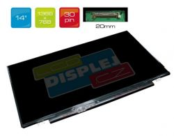 """LCD displej display Dell Alienware 14 14"""" WXGA HD 1366x768 LED"""