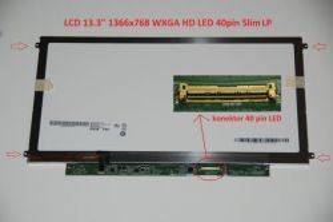 "Acer Aspire 3410G Serie 13.3"" 10 WXGA HD 1366x768 LED lesklý/matný"