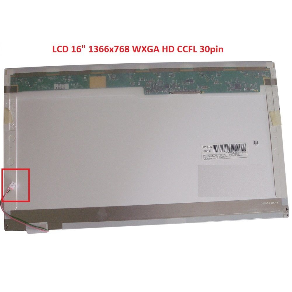 "LTN160AT01 LCD 16"" 1366x768 WXGA HD CCFL 30pin display displej"