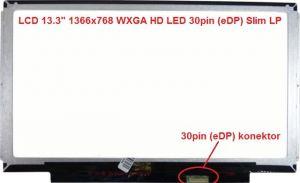 "B133XTN01.6 HW1A LCD 13.3"" 1366x768 WXGA HD LED 30pin (eDP) Slim LP | lesklý povrch, matný povrch"