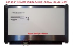 "LCD 13.3"" 1920x1080 WUXGA Full HD LED 30pin Slim DH (eDP)"