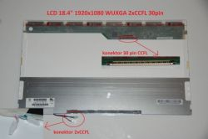 "N184H4-L04 REV.C1 LCD 18.4"" 1920x1080 WUXGA 2xCCFL 30pin"