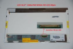 "LCD displej display MSI A6005-201US 16"" WXGA HD 1366x768 LED | lesklý povrch, matný povrch"