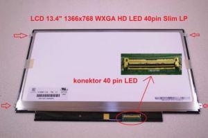 """MSI X350-408US 13.4"""" 46 WXGA HD 1366x768 lesklý/matný LED"""