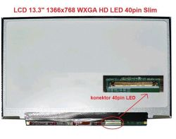 "LCD 13.3"" 1366x768 WXGA HD LED 40pin Slim"