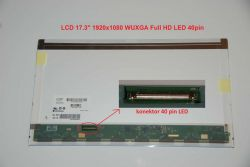 "LCD 17.3"" 1920x1080 WUXGA Full HD LED 40pin lesklý"
