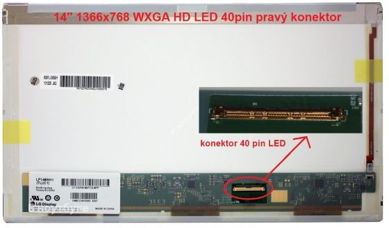 "LCD displej display Acer Aspire 4741G Serie 14"" WXGA HD 1366x768 LED lesklý/matný"