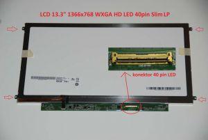 "B133XW01 V.2 LCD 13.3"" 1366x768 WXGA HD LED 40pin Slim LP display displej | lesklý povrch, matný povrch"