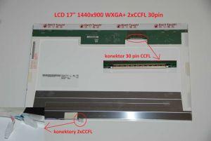 "B170PW07 V.0 LCD 17"" 1440x900 WXGA+ 2xCCFL 30pin"