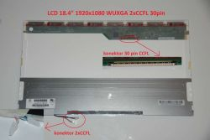 """LTN184HT01-A02 LCD 18.4"""" 1920x1080 WUXGA Full HD 2xCCFL 30pin"""