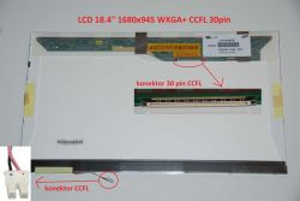 """LTN184KT01-M01 LCD 18.4"""" 1680x945 HD+ CCFL 30pin"""