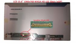 "LCD 15.6"" 1366x768 WXGA HD LED 30pin (eDP) lesklý"