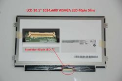 "LCD 10.1"" 1024x600 WSVGA LED 40pin Slim"