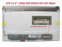 "LCD 11.6"" 1366x768 WXGA HD LED 40pin"