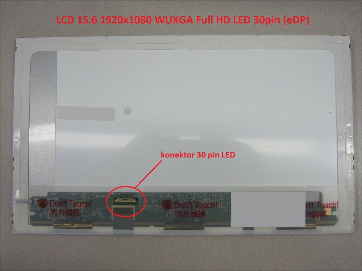 """LCD 15.6"""" 1920x1080 WUXGA Full HD LED 30pin (eDP)"""