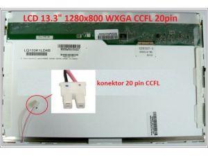 "LCD displej display Packard Bell EasyNote RS65 Serie 13.3"" WXGA 1280x800 CCFL | lesklý povrch, matný povrch"