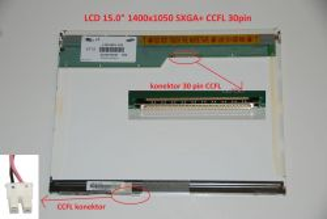 "LCD 15"" 1400x1050 SXGA+ CCFL 30pin"