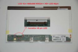 "LP164WD2(TL)(A1) LCD 16.4"" 1600x900 WXGA++ HD+ LED 40pin"