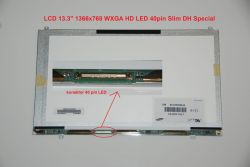 "LTN133AT21-001 LCD 13.3"" 1366x768 WXGA HD LED 40pin Slim DH Special"