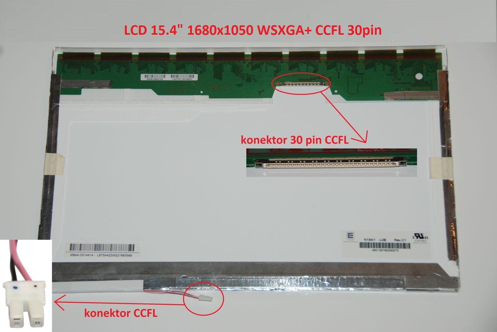 """LCD 15.4"""" 1680x1050 WSXGA+ CCFL 30pin"""
