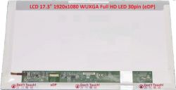 "LCD 17.3"" 1920x1080 WUXGA Full HD LED 30pin (eDP)"