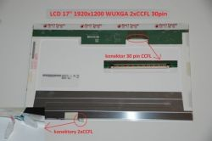 "Lenovo ThinkPad W700 Series 17"" WUXGA Full HD 1920x1200 2xCCFL lesklý/matný"