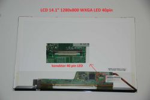 """Asus N80VM 14.1"""" 20 WXGA 1280x800 LED lesklý/matný"""
