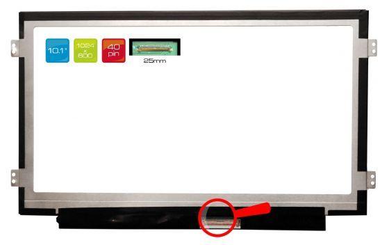 """LCD displej display eMachines PAV70 10.1"""" WSVGA 1024x600 LED"""
