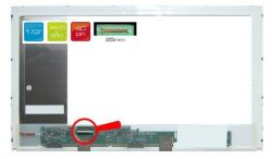 "HP ProBook 4740S Serie 17.3"" 27 WXGA++ HD+ 1600x900 LED lesklý/matný"