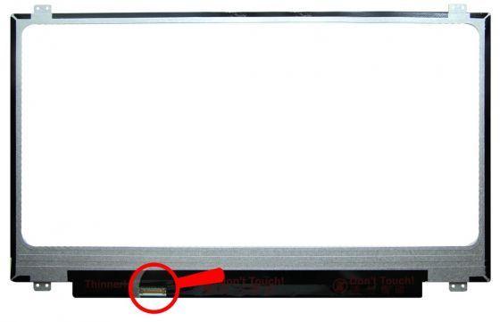 "B173RTN02.1 HW1A LCD 17.3"" 1600x900 WXGA++ HD+ LED 30pin Slim (eDP) AU Optronics"