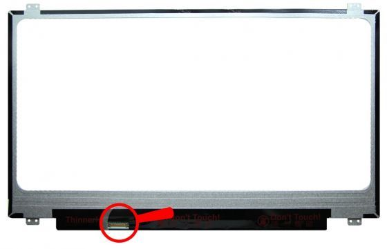 "N173FGA-E44 LCD 17.3"" 1600x900 WXGA++ HD+ LED 30pin Slim (eDP) Chi Mei"